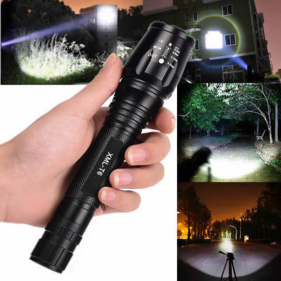 12000 Lumens 5 Modes XM-L T6 LED 18650 Powerful Torch Flashlight Lamp