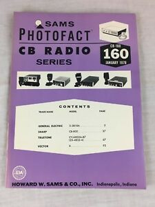 Sams-Photofact-CB-Radio-Series-Volume-CB-160-January-1978-Service-Manual