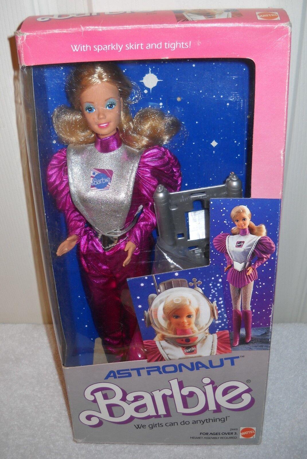 Nunca quitado de la Caja Vintage Mattel Muñeca Barbie Astronauta