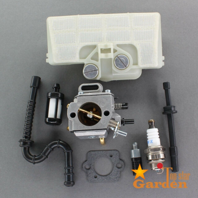 Gas Fuel Oil Tank Cap Vent Hose Kit For Stihl 029 MS290 039 MS310 MS390 Chainsaw