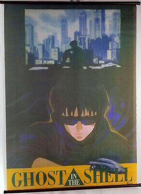Ghost In The Shell Rare Vintage 30 X 40 Large Anime Wall Scroll Manga Dvd Ebay