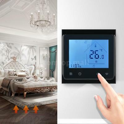 16A wifi Programmable Floor Heating Thermostat Temperature Controller LCD Y0K3