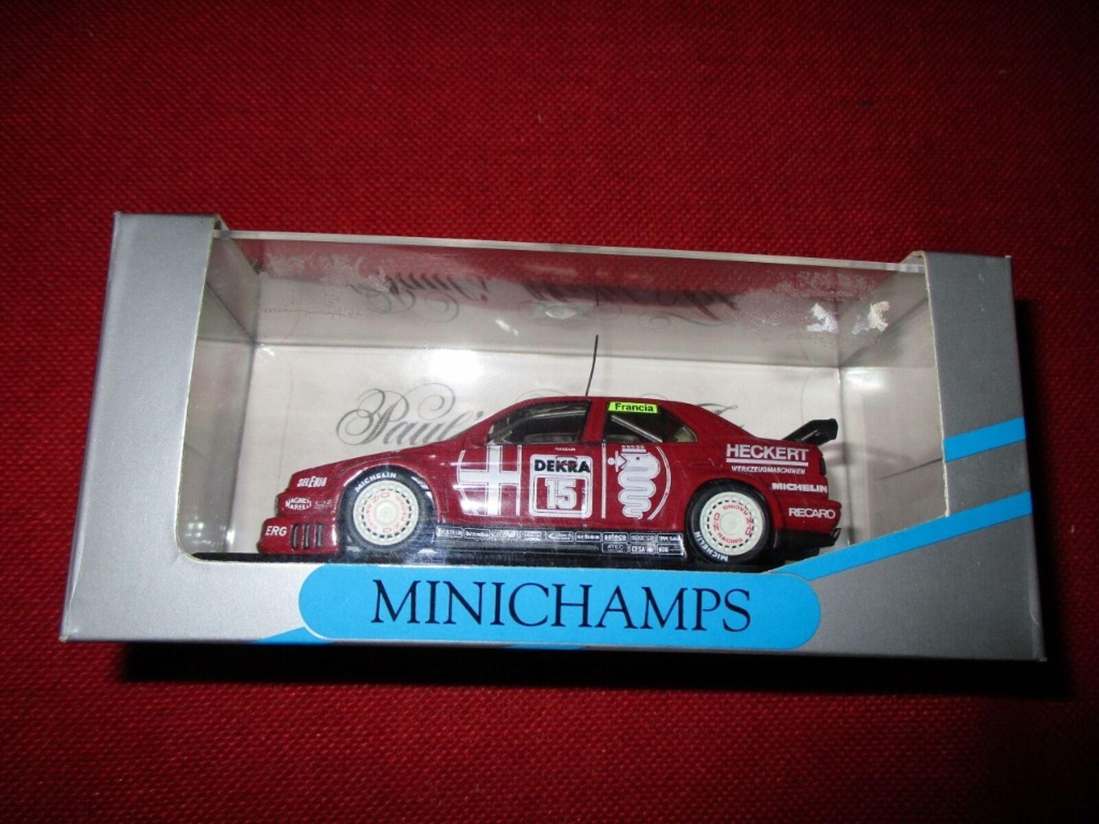 MINICHAMPS® 1 43 Alfa Alfa Alfa Romeo 155 V6 TI FRANCIA NEU OVP d4715f