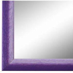 Details zu Wandspiegel Spiegel Violett Weiss Retro Vintage Pinerolo 2,3 -  NEU alle Größen