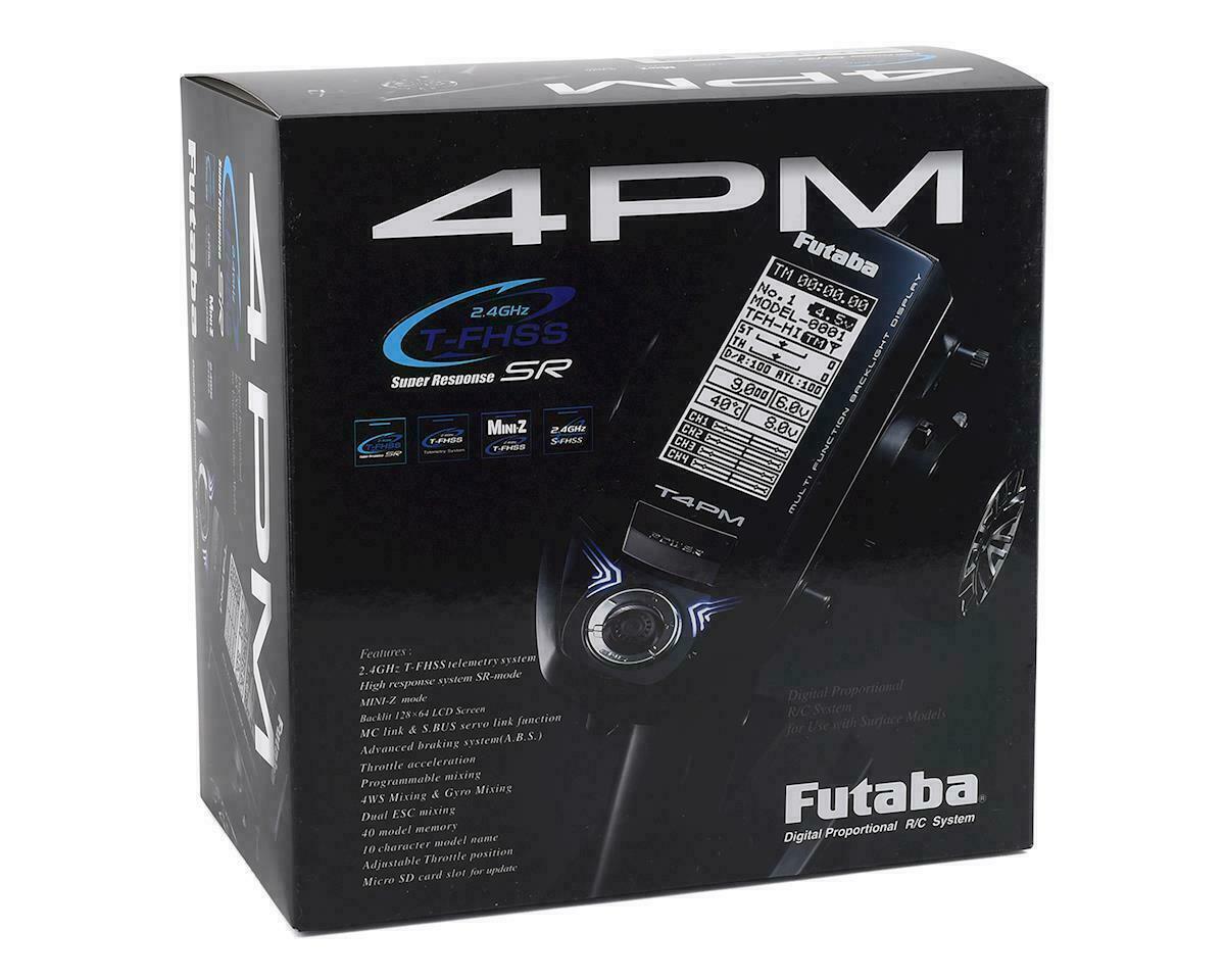 Futaba 7PXR 2.4GHz T-FHSS Telemetry Radio System w//R334SBS-E 01004396-3 New!!