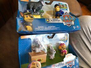 Paw Patrol Rescue Sets Chase And Marley & Skye Bunnies Nouveau dans les forfaits