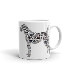 Patterdale-Terrier-Word-Art-Dog-Mug-Colour-Choice-Browns-or-Blacks-Mothers-Day