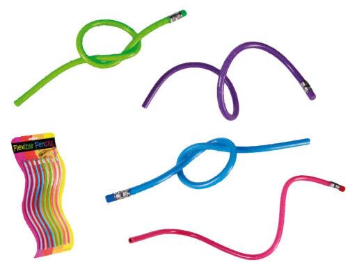 Bendy pencils flexible pencils kids School stationary Party loot bag gifts