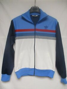 Giacca France Veste Jacket Sport Adidas 80 Ventex Vintage Années wqI64TI