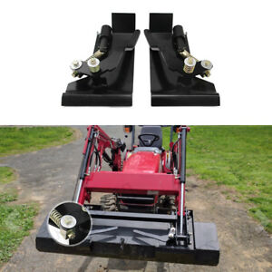 Skid-Steer-Quick-Tach-Conversion-Adapter-Latch-Box-Weld-On-QTK-Life-warranty
