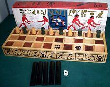 SENET Game of the Egyptian Pharoahs - Wooden Pieces - Northwest Corner
