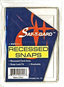 5-Saf-T-Gard-Trading-Card-Sports-Card-Holder