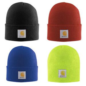 2dd0f03e592d4c NWT CARHARTT Authentic Watch Hat, Knit Beanie, Cap One Size Choose ...
