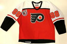 ERIC LINDROS PHILADELPHIA FLYERS CCM AUTHENTIC 1993 ROOKIE YEAR JERSEY 52