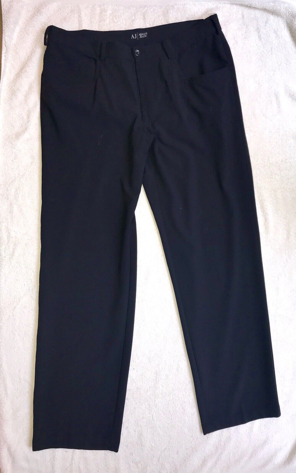 Armani Jeans Mens Trousers Navy - Very Smart Trousers - Hardly Worn