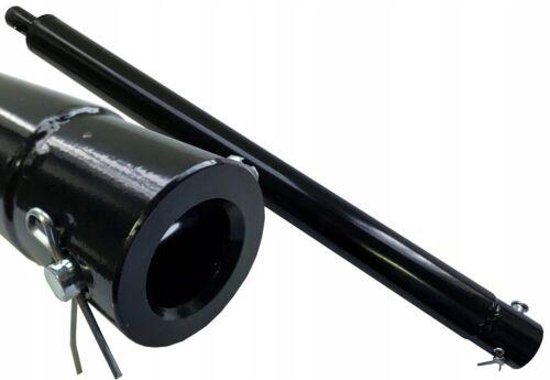 Verlängerung 50cm Erweiterung für Bohrer Erdbohrer Pfahlbohrer 500mm