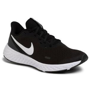 Scarpe-running-Nike-REVOLUTION-5-uomo-sneakers-tempo-libero-A3-Nero-BQ3204-002