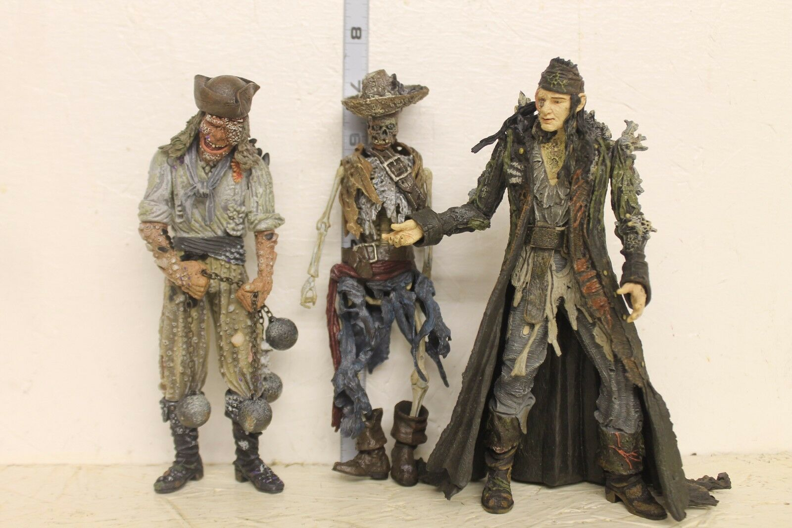 Pirates of the voitureibbean  Pirates Stiefeltrap Bill Turner  Figure LOOSE