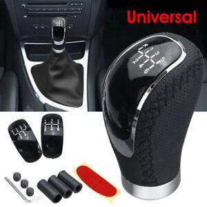 Universal-Auto-Schaltknauf-Schalthebel-Schaltknopf-Manuell-mit-5-6-Gang-Kappe