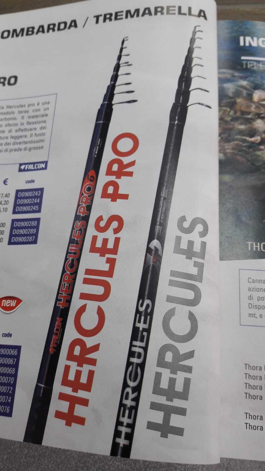 CANNA DA PESCA TREMARELLA BOMBARDA TROUT AREA TrossoA LAG HERCULES NEW AZ1234