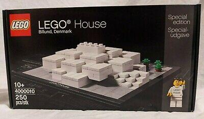 LEGO New 4000010 House Billund Denmark Special Edition Set Sealed