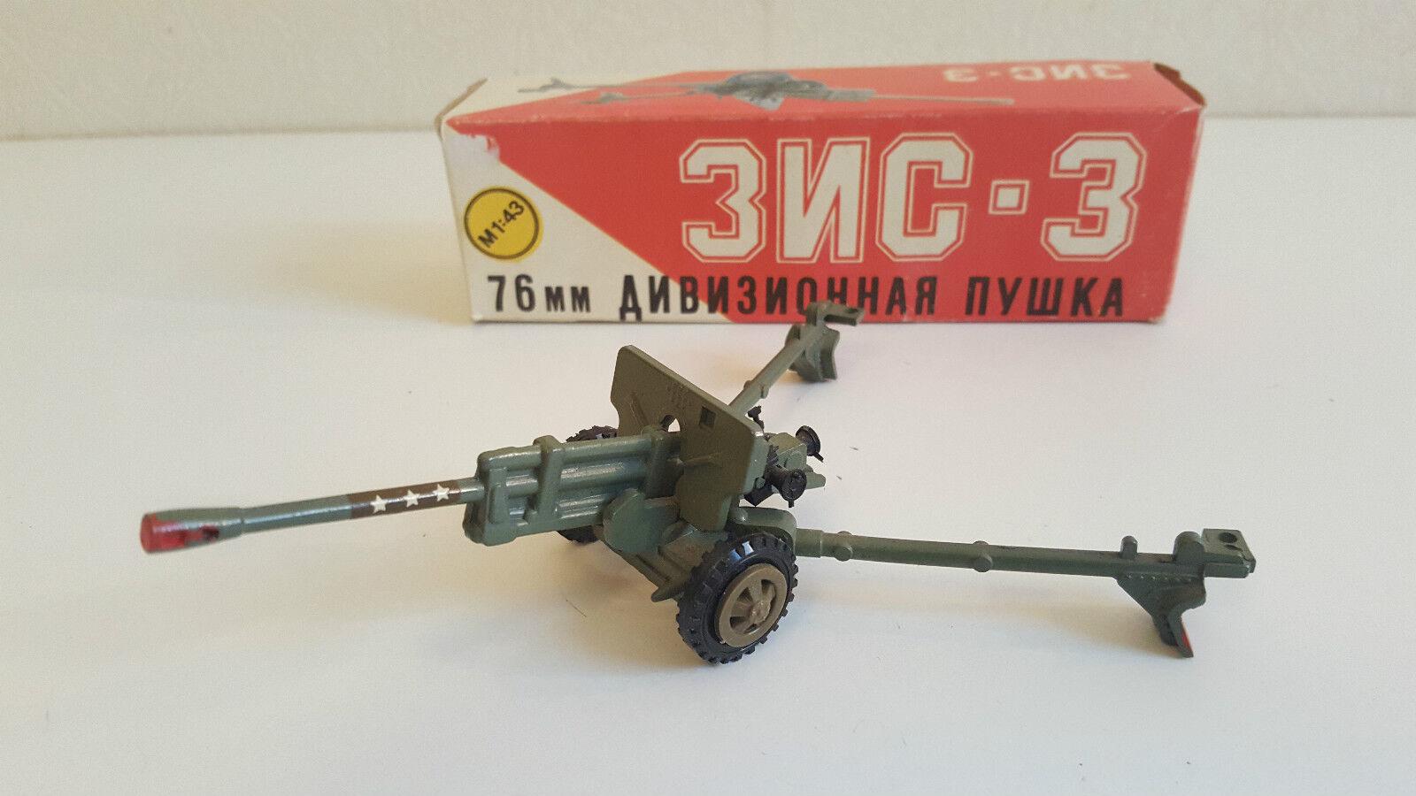 Ancien jouet   Canon Soviétique en métal et plastique 17 Cm - USSR - Vintage