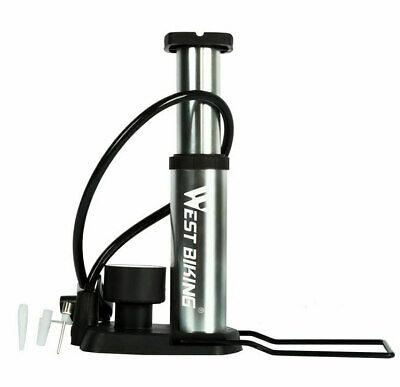 Portable Bicycle Pump Mini Multifunction Inflator Ultra Light 110 Psi Inflation