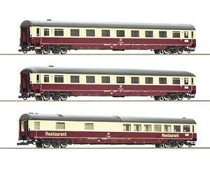 Roco-H0-74096-Autoreisezugwagen-Set-2-034-Christoforus-Express-034-der-DB-NEU-OVP