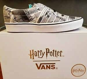 Details about NEW IN THE BOX VANS X HARRY POTTER LIMITED EDITION COMFYCUSH ERA SHOE FOR MEN