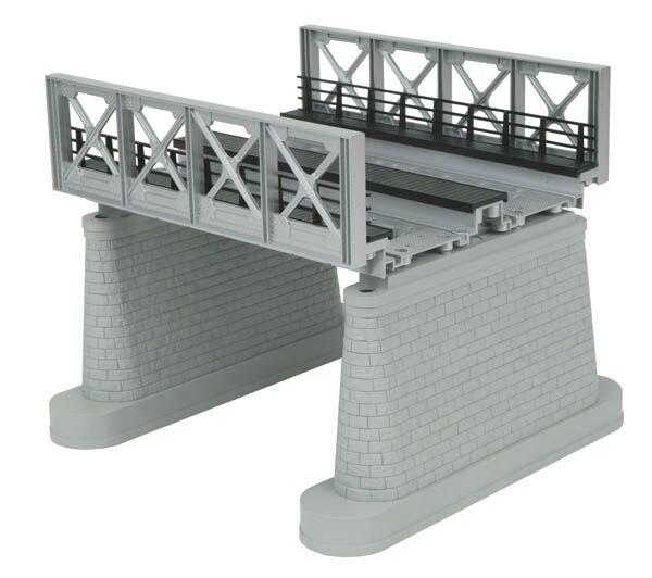 MTH o 40-1108 Plata dos Pista Puente de Vigas