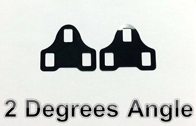 2 degrees WEDGE shim spacer for Ritchey Echelon Cleats pedal system cleat