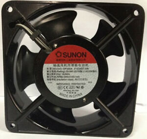 Details about Original SUNON SP100A 1123XBL 110-120V AC 120×120×38mm 2-wire  Cooling fan