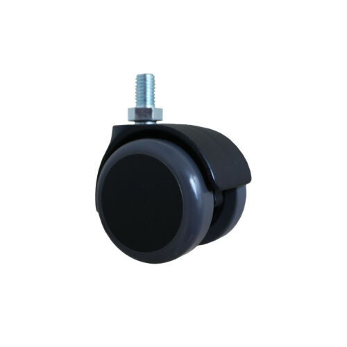 50 mm Stuhlrolle mit Stift  Hartbodenrolle Rolle für Bürostuhl