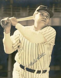 Babe-Ruth-8x10-SIGNED-PHOTO-AUTOGRAPHED-Yankees-HOF-REPRINT
