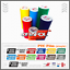 2x-GS-Adventure-White-Red-BMW-F650-R1150-R1200-GS-Aufkleber-Pegatina-Stickers Indexbild 3