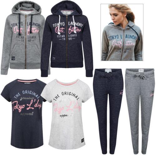 Linea Donna Tokyo Laundry Space Dye Abbigliamento donna Pantaloni Sportivi Manica Corta T-shirt