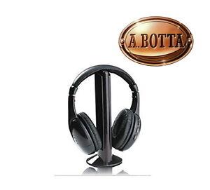 Caricamento dell immagine in corso Cuffia-TV-Senza-Fili-Wireless-5-in-1- 347e6afa3917