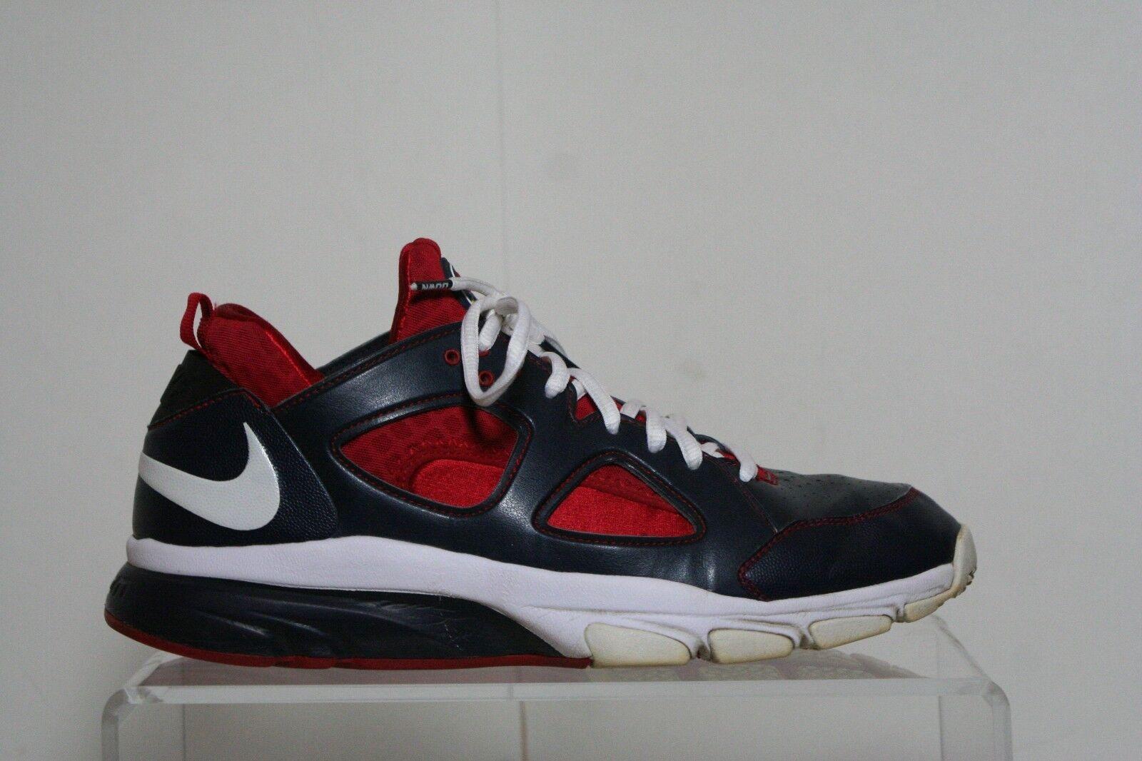 Nike zoom huarache tr basso playstation 2010 multi - usa rosso - bianco - blu gli uomini 11 sony