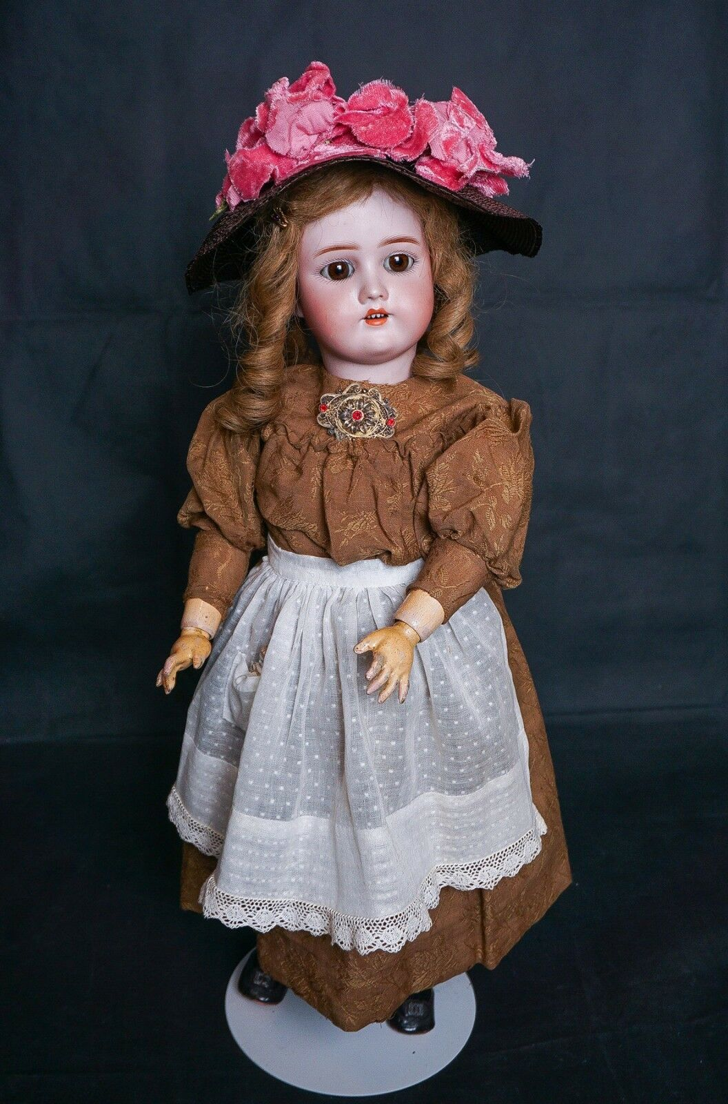 SALE Antique Geruomo Bisque Simon & Halgree Berguomo  24  bambola  fino al 65% di sconto