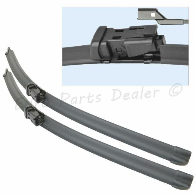 "26/"" 16/"" Pour Peugeot-Partner 2008 /> Front Wiper Blades uniblade 650 mm 400 mm"