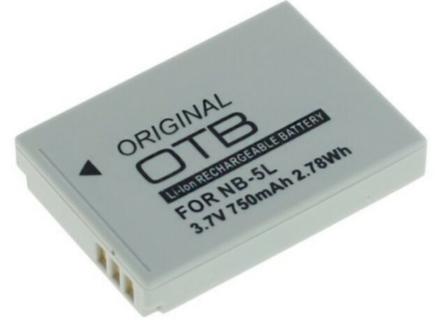 OTB Batería para Canon Digital Ixus 90 Is / 800 / 850 / 860 / 870