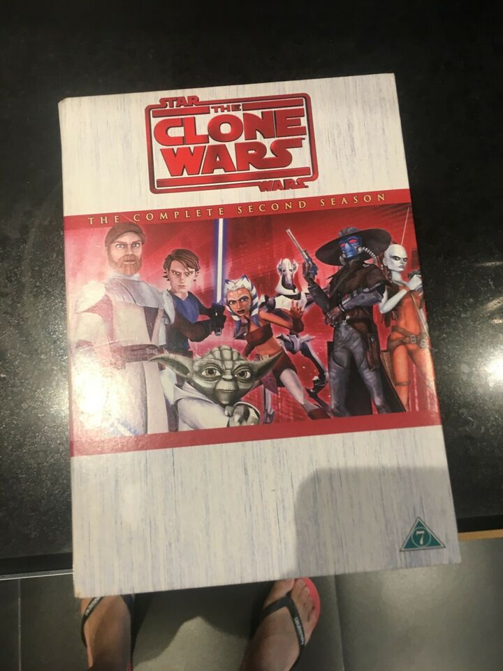 Star Wars the clone wars, DVD, animation