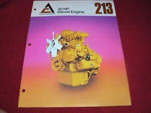 Allis-Chalmers-213-32HP-Diesel-Engine-Dealer-039-s-Brochure-EE-440-C