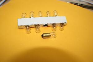 LAMPS GLOBES  #44 or #47 PK OF 10 PINBALL JUKE BOX JUKEBOX  44 47 LAMP GLOBE