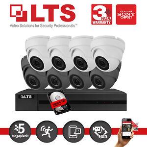 Details about Hikvision iVMS-4500 CCTV Kit Home Security LTS 5MP  LTD8504U-K1 2/3/4 Cameras