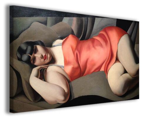 Quadri moderni famosi Tamara de Lempicka vol XI stampa su tela canvas arredo