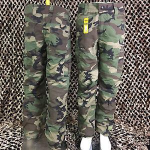 NEW Valken V-Tac KILO Tactical Combat Paintball Pants - Woodland Camo - Medium