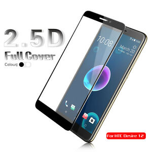 Full-Screen-Cover-Protector-Tempered-Glass-Film-For-HTC-Desire-12-Desire12-Plus