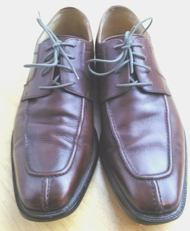 PRONTO UOMO ITALY LONG SPLIT TOE  11 Brown Leather Oxfords Sz 11  D c7ef96