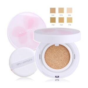Shu Uemura Petal Skin Cushion Foundation Refill Case Puff Ebay